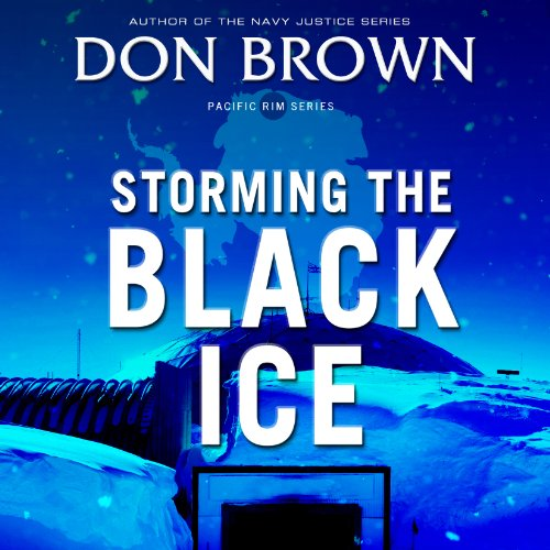 Storming the Black Ice audiobook cover art