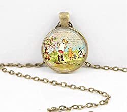 Image: Winnie the Pooh | Bear Pendant Necklace
