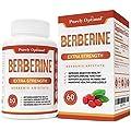 Premium Berberine HCl 1200mg (Non-GMO, Gluten Free Vegetarian Capsules) - Blood Sugar Metabolism, Immune Function, Cardiovascular & Gastrointestinal Health Supplement for Women and Men - 30 Day Supply