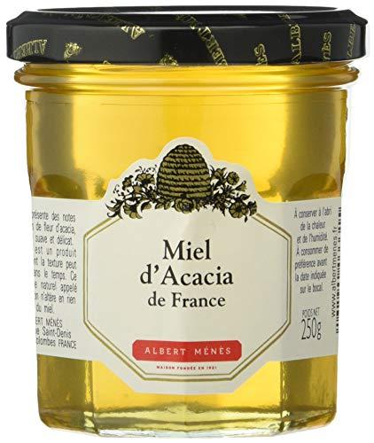 ALBERT MENES Miel d'Acacia de France 250 g - Lot de 3