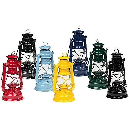 Reco Im-And Export Gmbh Feuerhand Galvanized Lantern - Dusty Blue