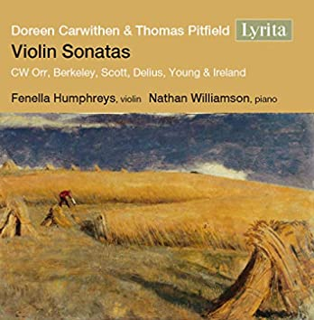 Carwithen, Pitfield & Others: Music for Violin & Piano