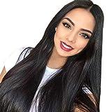 Remy Echthaar Perücke Brasilianisches Haar Lange 100% Unprocessed Full Lace Wig mit Verstellbare Träger Grad 8A Qualität Haare Glueless Wig with Baby Hair 28 zoll