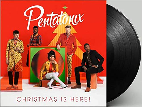 Christmas Is Here! - Exclusive Limited Edition Black Colored Vinyl LP