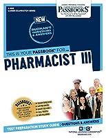 Pharmacist III (Career Examination)