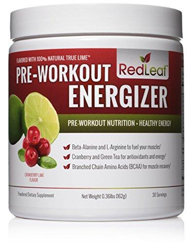 Red Leaf Pre-Workout Energizer Powder
