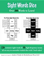 Sight Words Dice: Over 300 Sight Words to Learn 1514810727 Book Cover