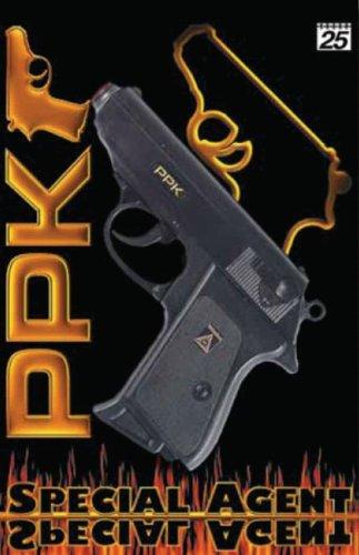 Sohni-Wicke 0482 Pistolet PPK 18 cm 25 Coups