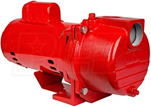 Red Lion RL-SPRK200 Cast Iron Sprinkler Pump, Red