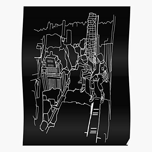 Ocean New World Music Bastille Wild York City Skyline Chicago das Beste und neueste Plakat für Wandkunst Wohnkultur Zimmer