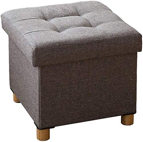 Aohi WXQ-XQ Pouffes and Footstools gift Brown Footstool Chair Kansas City Mall Sto