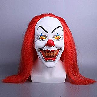 PAPIN Mask Hot Toys 2017 Ultimate Scary Cosplay Costume Face Masks Horror Exclusive Big Clown Toy Halloween Christmas Collectible Mini Small Collectable Gifts Collectibles Large Gift for Adults Adult