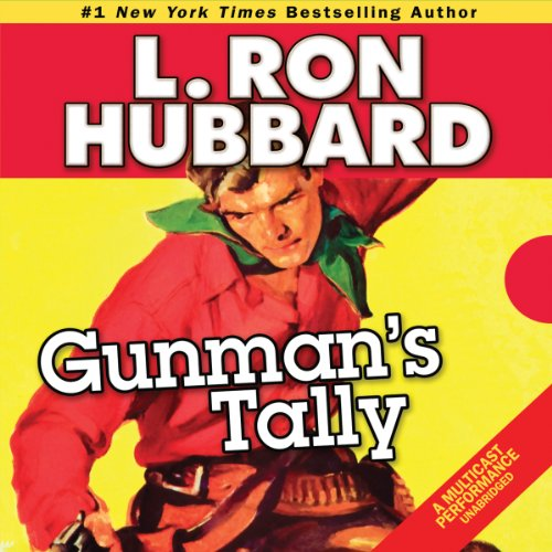 Gunman's Tally audiobook cover art