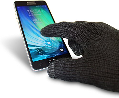 normani 1, 2, 5 oder 10 Paar - Touchscreen Smartphone Touch Gloves Handschuhe kapazitiv Farbe 5 Paar Größe Large/X-Large