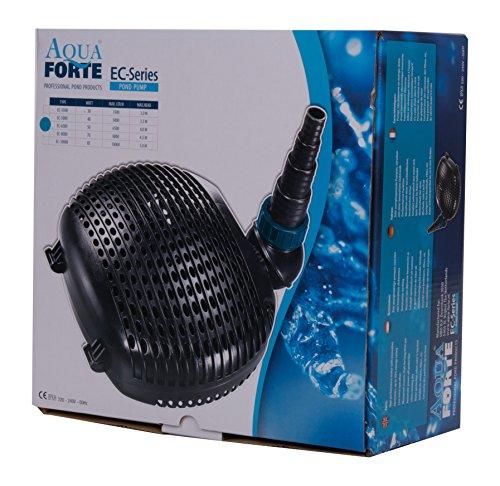 AquaForte Filter-/Teichpumpe EC-6500 6,5m³/h, Förderhöhe 4m, 38Watt