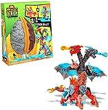 MEGA Construx Breakout Beasts con Slime, 2 Creature in Uno, Giocattolo per Bambini 5+ Anni, GGJ66, multicolore