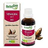 HerbalGem|Venagem Bio|Complexe de Gemmothérapie Concentrée|Jambes Lourdes|30 ml