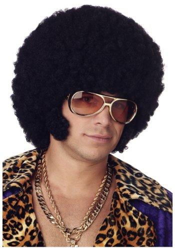 California Costumes Afro Chops Wig Standard Black
