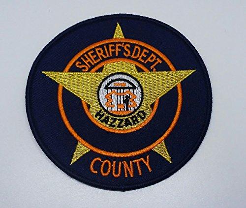 Sew/Iron Dukes of Hazzard Rosco P. Coltrane Enos Strate Cletus Hogg Sheriff Dept. Arm Patch
