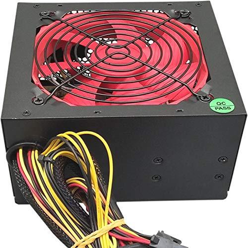 ZHEBEI Fuente de alimentación de PC nominal 250 vatios Fuente de alimentación del chasis Fuente de alimentación de escritorio Nueva fuente de alimentación del ordenador