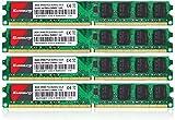 8GB Kit (4X2GB) DDR2 667 DIMM RAM, Kuesuny PC2-5300/PC2-5300U CL5 240-Pin...