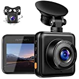 APEMAN Dual Dash Cam for Cars Front and Rear with Night Vision 1080P FHD Mini in...