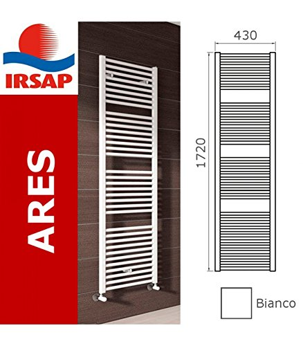 IRSAP radiatore Ares, 1720x430 mm, 34 elementi, bianco