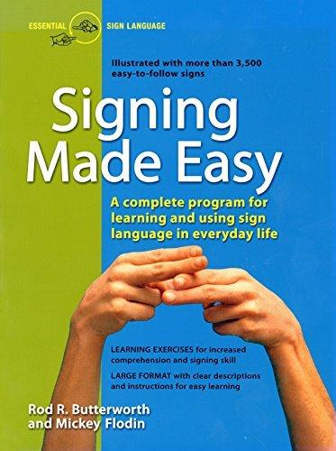 Firma di Rod R. Butterworth Made Easy (a programma completo per apprendimento linguaggio dei segni. Include frase trapani e Exer (1st Edition)