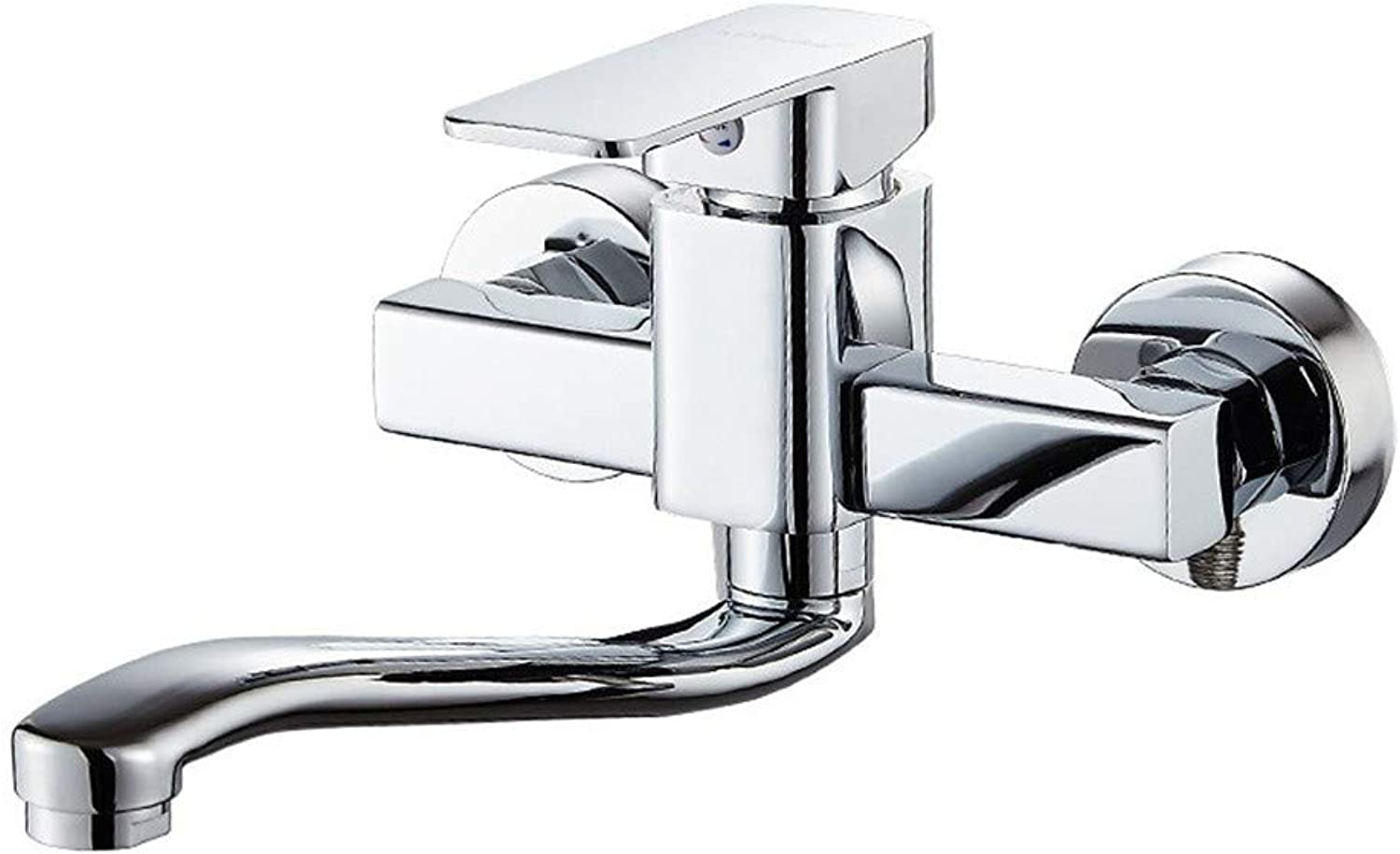Zhcmy?Faucet Single Handle Copper Hot And Cold Faucet Kitchen???Laundry Pool Sink Faucet redation