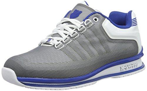 K-Swiss Herren RINZLER TRAINER Sneakers, Weiß (White/Classic Blue), 39.5 EU