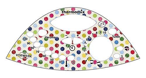 Thermodernizate.com vinilo botonera tm31 Modelo lunares