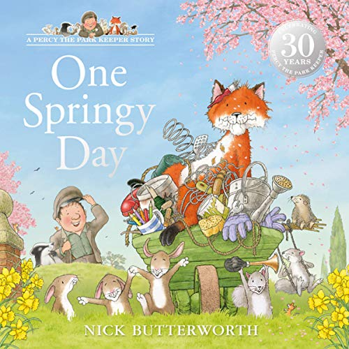 One Springy Day  audiobook cover art