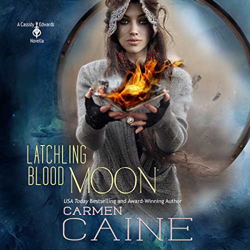 Latchling Blood Moon audiobook cover art