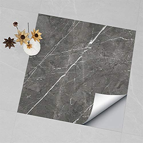 kengbi Fácil de decorar popular duradero papel pintado PVC piso adhesivo impermeable plástico piso papel pintado resistente al desgaste mármol cocina a prueba de aceite pegatinas de pared 30x30cm