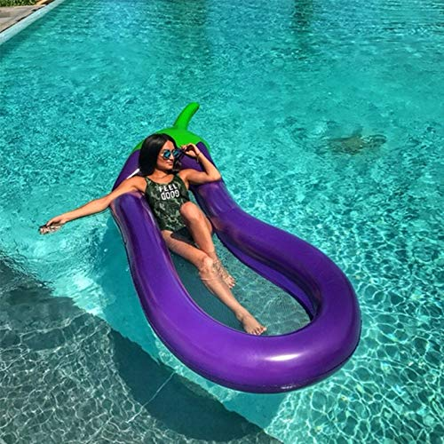 CYLYFFSFC Inflatable floating bed, outdoor beach floating lounge chair, raft backrest lounge chair, water sofa, mesh cool design water bed in the middle of the floating row, children adult pool party
