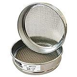 KimLab Economy Test Sieve #12/1.7mm Mesh Size,304 Stainless Steel Wire Cloth,...