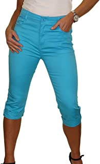 ICE Capri Jeans con Elasticidad y Brillo 38-48