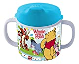 P:os, 68939, Tazza con manico e beccuccio per bimbi, motivo: Disney Winnie the Pooh, materiale: melammina/ABS, 200 ml