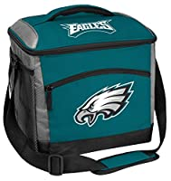 Rawlings NFL Soft-Sided Insulated Cooler Bag, 24-Can Capacity, Philadelphia Eagles