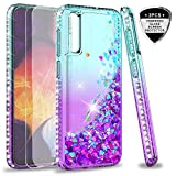 LeYi for Samsung Galaxy A50/A50S/A30S Case and Tempered