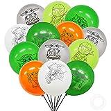 Globos fiesta Decoracione Miotlsy 30 piezas Baby Yoda Feliz Decoración Cumpleaños, Globos de Látex Star Wars, Globo para Fiesta de ducha Regalos de bebé niño
