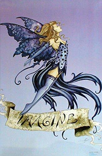 Adam Hersh Posters Amy Brown (Imagine Fairy) Art Poster Print - 24' X 36'
