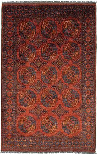 Nain Trading Afghan Ersari 302x194 Orientteppich Teppich Braun Handgeknüpft Afghanistan