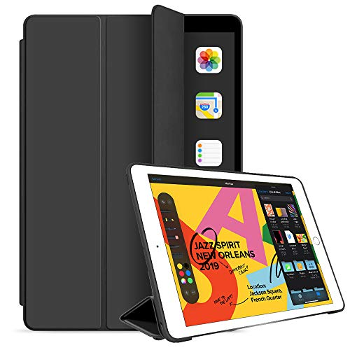 iPad Mini 5 Case 2019 5th Generation iPad Mini, Slim Stand Protective Case Smart Cover for 2019 Apple iPad Mini 5 7.9 Inch Smart Cover with Auto Sleep/Wake…Black