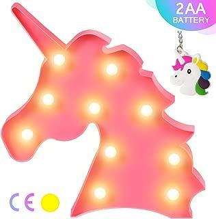 Best pink unicorn night light Reviews