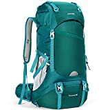HOMIEE Hiking Backpack, 50L Waterproof Trekking Rucksack with Rain Cover, Excellent Carrying System