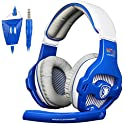 Letton Sades Wcg Wired Over Ear Gaming Headset with Noise Canceling Mic