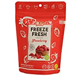 POL'S - 15 gr. Fresa Entera Liofilizada, Freeze Dried Strawberry Whole, Fresa Seca, El mejor refrigerio diario, sin gluten, sin azúcar, vegano, sin aditivos