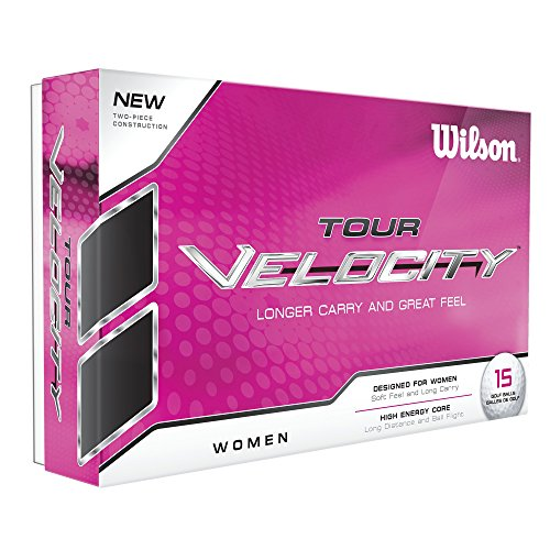 Wilson Staff WGWR60400, Femme Balle de Golf Souple en 2 Pièces pour une Distance Maximale, Boîte...