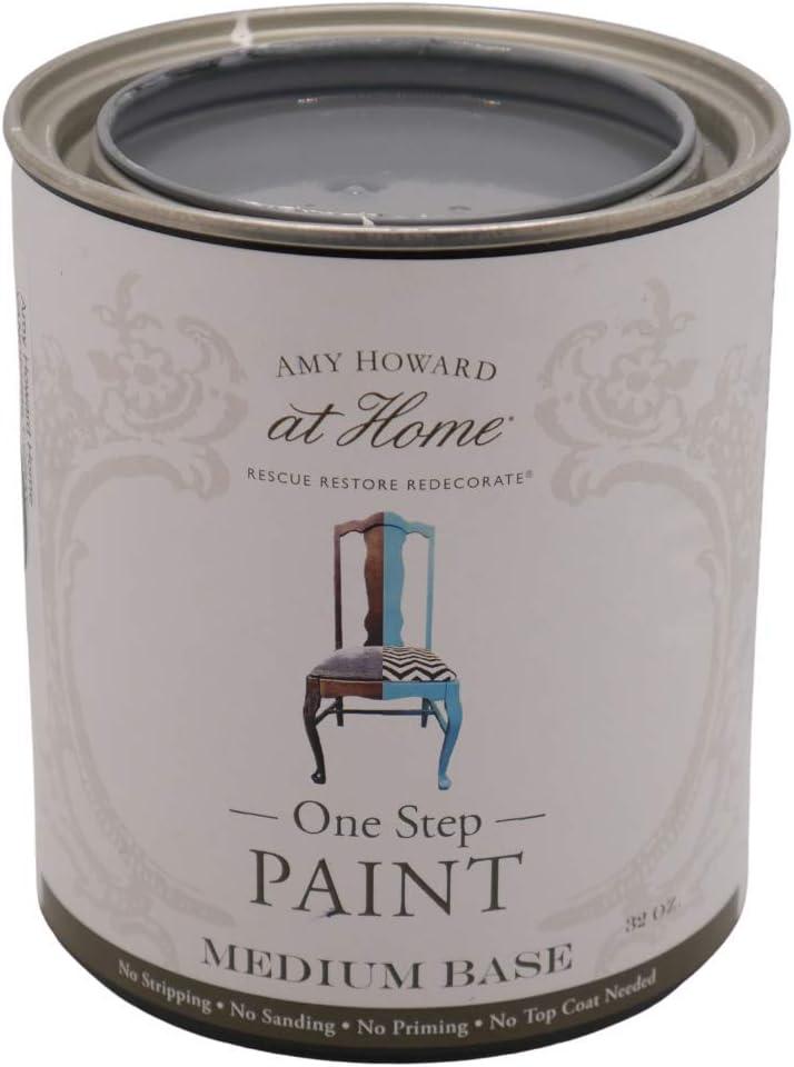 One-Step Chalk Finish Paint Vanderbilt OZ Home 32 Gray Imp latest Omaha Mall
